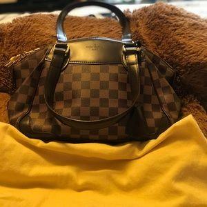 Louis Vuitton  Damier Ebene verona pm hand bag